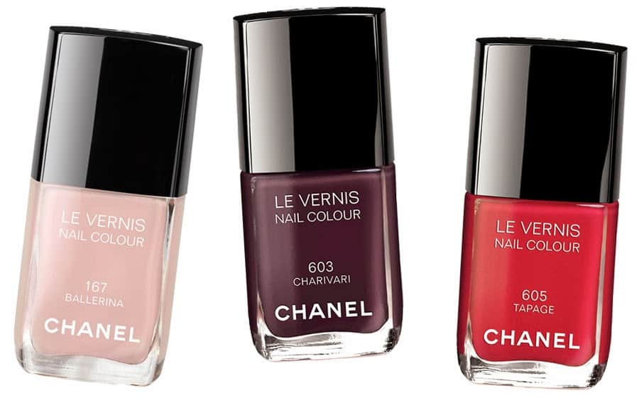 Chanel Ballerina 167 nail colour