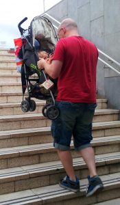 Carrying stroller