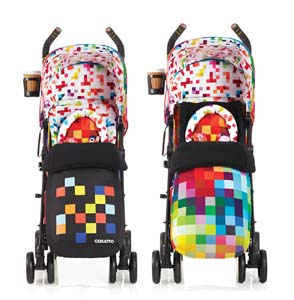 colourful stroller